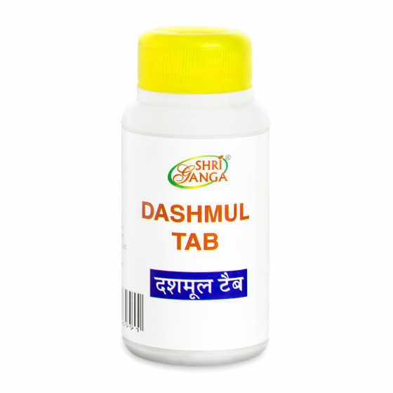 Дашамул: для восстановления организма (100 таб), Dashmul Tab, произв. Shri Ganga Pharmacy