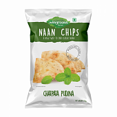 Мятные чипсы (150 г), Chatpata Pudina Naan Chips, произв. Wingreens Farms