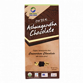 Шоколад с Ашвагандой (42.5 г), Ashwagandha Chocolate, произв. Organic Wellness