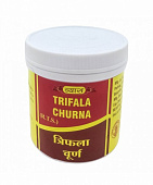 Трифала Чурна: для очищения организма (100 г), Triphala Churna, произв. Vyas